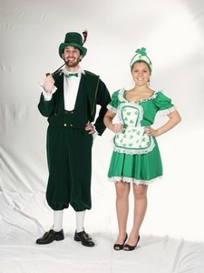St. Patricks Day Couple