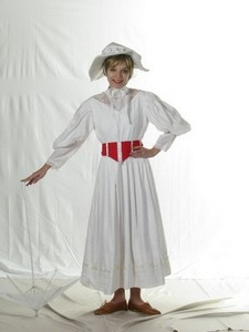 Mary Poppins white dress