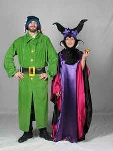Maleficent and Dopey