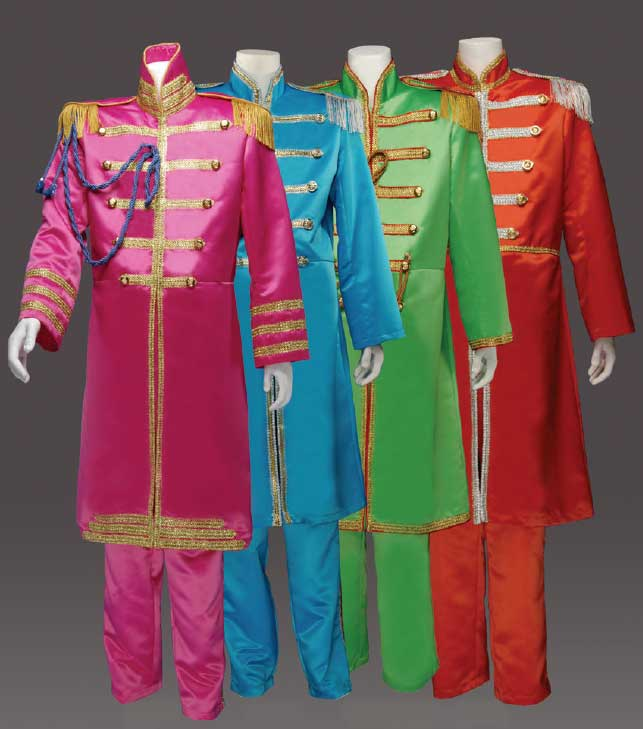 Beatles Costumes Sgt Peppers Lonely Hearts Club Band