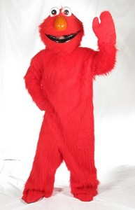 Red Furry Character