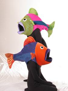 Two Colorful Fish