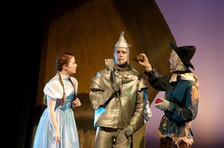 Tin Man and oil can