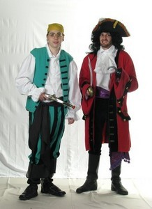 Captian Hook and Smee