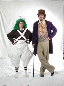 Willy Wonka and Oompa Loompa